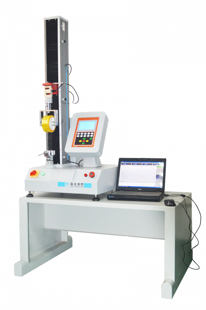 AC 220V 50HZ Universal Testing Machines Ball Screw for Wire Tensile Strength