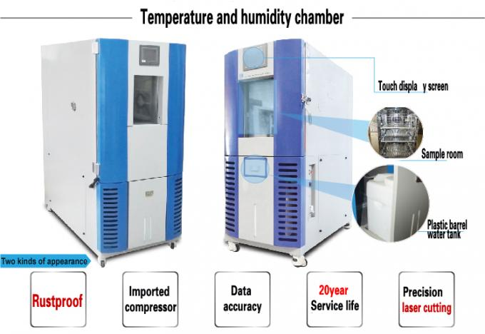 ISO Certificated Canstant Humidity Temperature Environmental Testing Chamber