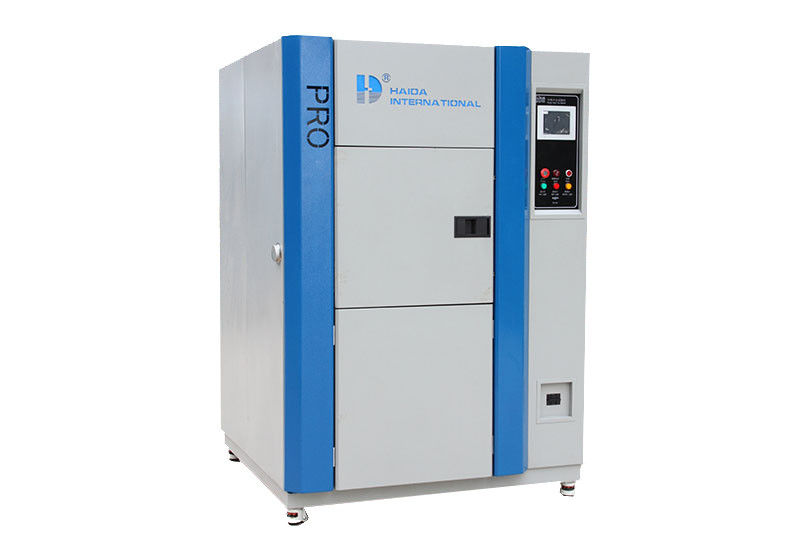 CE certificated Temperaturesh Thermal Shock Environmental Test Chamber AC380V 50/60Hz