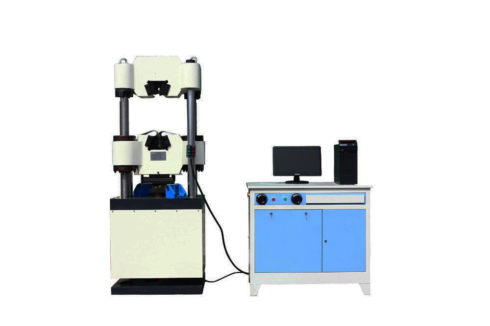 High Precise Ball Screw Hydraulic Universal Tensile Testing Machines Panasonic Servo Motor