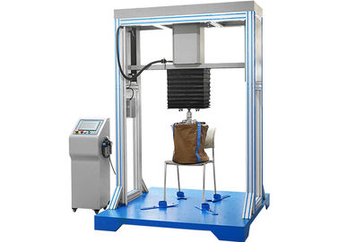 Programmable Chair Seating Drop Impact Testing Machine , Cylinder Stroke 0 - 300mm