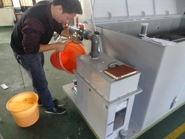 Salt Spray Corrosion Test Chamber 500 Liters Air Drying