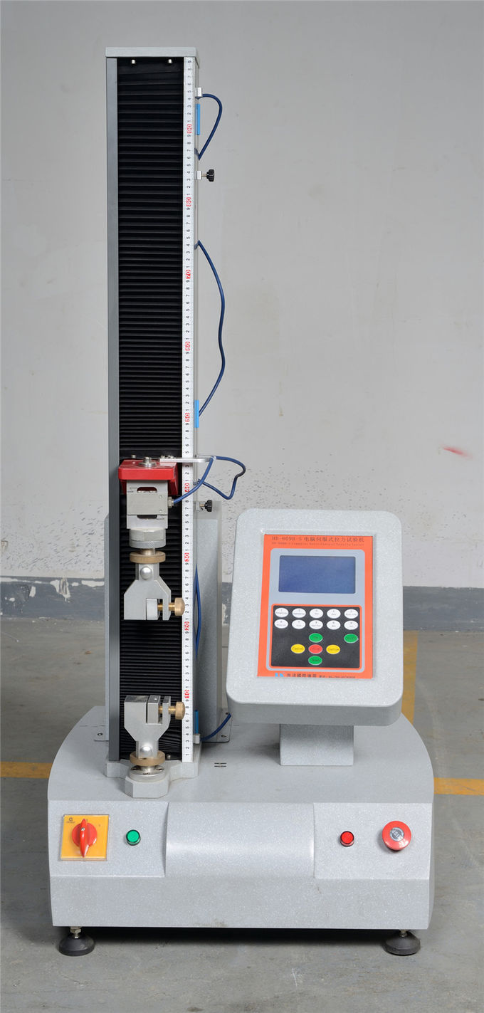 Astm Rubber Tensile Testing Machine With Panasonic Servo Motor
